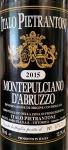 Pietrantonj Montepulciano d'Abruzzo 2015 (750ML)