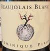 Dominique Piron Beaujolais Blanc 2017 (750ml)