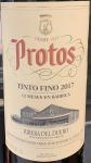 Bodegas Protos Tinto Fino Ribera del Duero 2017 (750ML)