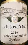 Joh. Jos. Prum Graacher Himmelreich Spatlese Riesling 2016 (1.5L)