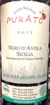 Purato Cataratto Nero d'Avola Sicily 2017 (750ml)