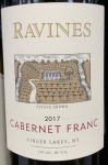 Ravines Wines Cellar Cabernet Franc Finger Lakes 2018 (750ML)
