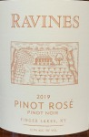 Ravines Wines Cellar Dry Pinot Rose Finger Lakes 2019 (750ML)