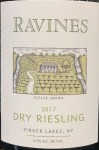 Ravines Wines Cellars Dry Riesling Finger Lakes 2017 (750ml)