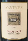 Ravines Wines Cellars Pinot Noir Finger Lakes 2015 (750ml)