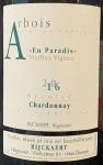 Jean Rijckaert Arbois En Paradis Vieilles Vignes Chardonnay 2017 (750ml)