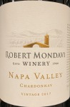 Robert Mondavi Chardonnay Napa Valley 2017 (750ML)
