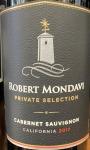 Robert Mondavi 'Cab Sauv Private Selection' California 19 (750ml)