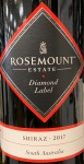 Rosemount Estate 'Diamond Label' Shiraz South Australia 2017 (750ML)