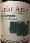 Sankt Anna Urziger Wurzgarten Riesling Kabinett Feinherb 2015 (750ml)