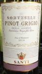 Santi 'Sortesele' Pinot Grigio Venezie 2018(750ML)