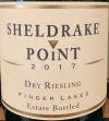 Sheldrake Point Dry Riesling Finger Lakes 2018 (750ML)