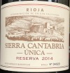 Sierra Cantabria Reserva Unica Rioja 2014 (750ml)