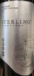 Sterling Vineyards Napa Valley Cabernet Sauvignon 2015 (750ML)