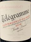 Domaine du Vieux Telegraphe Telegramme Chateauneuf du Pape Rouge 2016 (750ml)