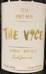 The Vice Pinot Noir Carneros 2018 (750ml)