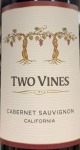 Columbia Crest Two Vines Cabernet Sauvignon 2015 (750ml)