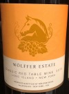 Wolffer Estate Classic Red Table Wine 2019