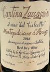 Cantina Zaccagnini Montepulciano d'Abruzzo Riserva 2016 (750ml)