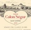 Chateau Calon Segur Saint Estephe 2018 (Pre-Arrival)