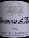 Casanova di Neri Brunello di Montalcino 2016 (750ml)