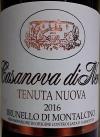 Casanova di Neri Tenuta Nuova Brunello di Montalcino 2016 (750ml)