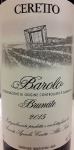 Ceretto 'Brunate' Barolo 2015 (750ml)