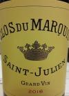 Clos Du Marquis Saint Julien 2016 (750ml)
