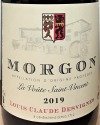Louis Claude Desvignes 'La Voute St. Vincent' Morgon Cru Beaujolais 2019 (750ml)