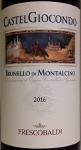 Frescobaldi Castelgiocondo Brunello di Montalcino 2016 (750ML)
