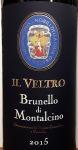 Il Veltro Brunello di Montalcino 2015 (750ML)