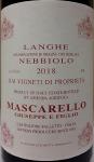 Giuseppe Mascarello Langhe Nebbiolo 2018 (750ML)
