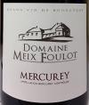 Domaine Meix Foulot Mercurey Rouge 2017 (750ml)