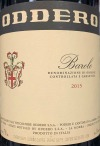 Oddero Barolo 2015 (750ML)