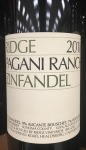 Ridge Pagani Ranch Zinfandel 2018(750ML)
