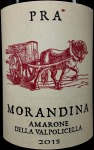 Pra Amarone della Valpolicella Morandina 2015 (750ml)