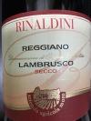 Moro di Rinaldini Lambrusco Reggiano Secco NV