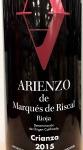 Marques de Arienzo Crianza Rioja 2015 (750ml)