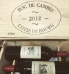 Roc de Cambes Cotes du Bourg 2012 Vinous Media 93 pts (750ml)