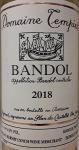 Domaine Tempier Bandol Blanc 2018(750ML)