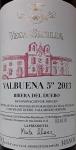 "Vega Sicilia ""Valbuena"" Ribera del Duero 2013 (750ml)"