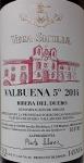 "Vega Sicilia ""Valbuena"" Ribera del Duero 2014 (750ml)"