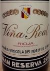 CVNE Vina Real Gran Reserva Rioja 2013 (750ML)