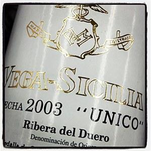 Vega Sicilia 'Unico' Ribera del Duero 2003 - 94pts WA (750ML)