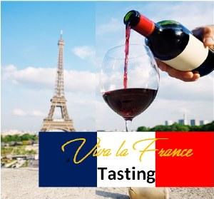 Vive la France Tasting - Saturday September 18th, 2021 Session 3: 4:00-4:50 PM