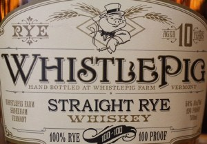 Whistlepig Straight Rye 10 Yrs .750L