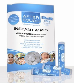 AfterTouch Wipes Refill pack of 50