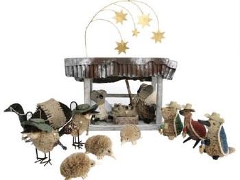Aussie Nativity Scene