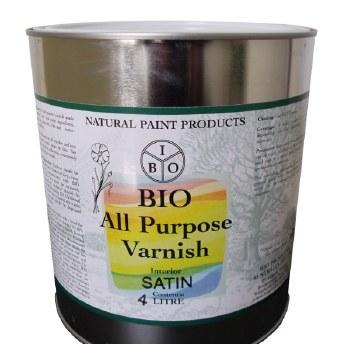 Bio Varnish All Purpose Satin 4L
