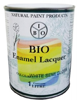 Bio Enamel Lacquer 1L White Semi-Gloss